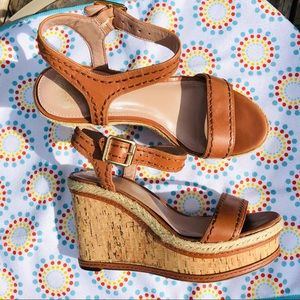 Vince Camuto Tan Sebba Wedges